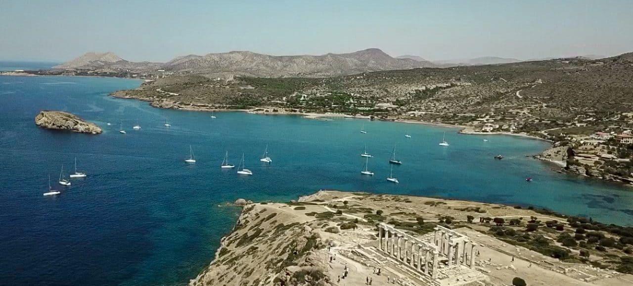 Grecia - Insulele Cyclade - Sounio by Sail United vacanta pe yacht in Grecia